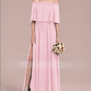 Dresses & Skirts - JJs House off-the-shoulder Bridesmaid Dress